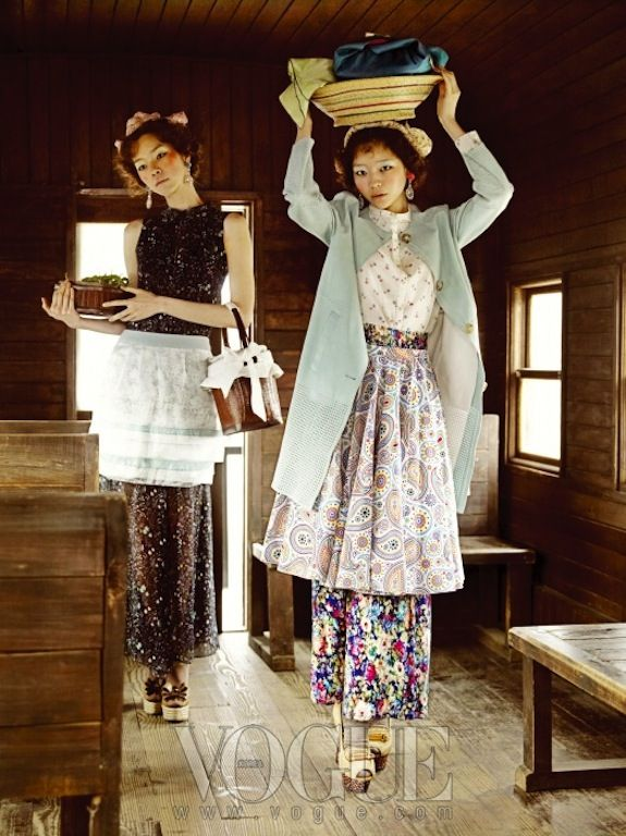 """""""Country Song"""" in Vogue Korea"""