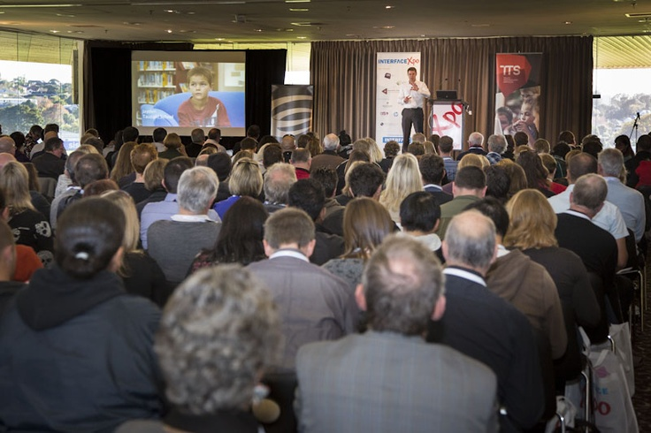 Delegates enjoying the first keynote from TTS's Peter Nelson.