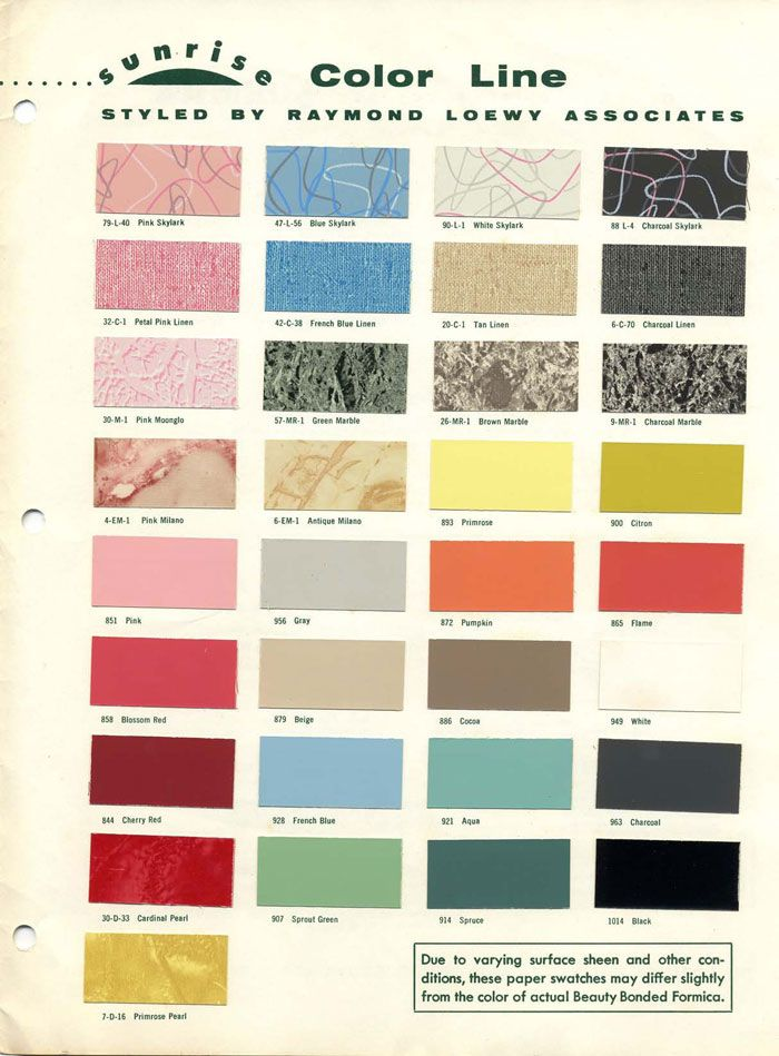92 best 1950 s radio colors from ads images on Pinterest