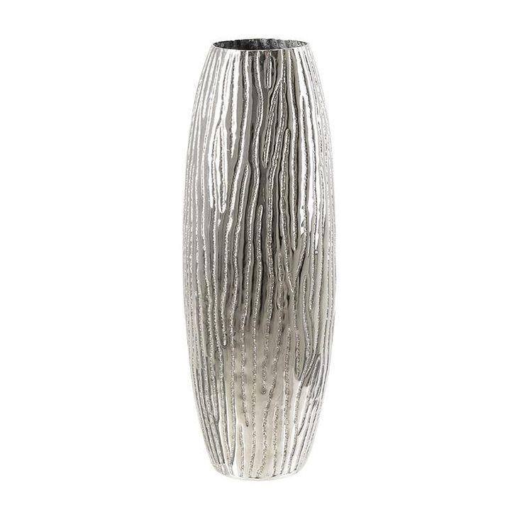 Aluminium Vase - inart
