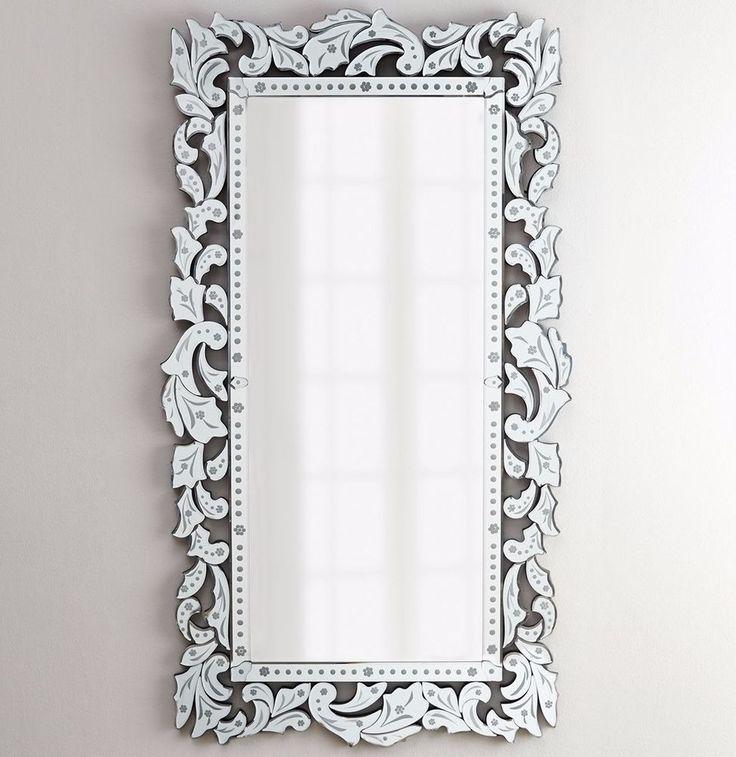 "Beautiful New Horchow 72"" Gianeta Venetian Glass Wall Mirror Italian Living Bedroom Dining Hollywood Regency Inspirational - Simple Elegant venetian glass mirror Idea"