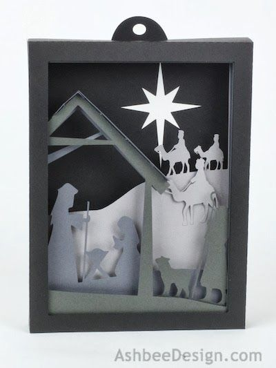 Project Description: I Have Designed A Shadow Box For The Christmas Season.  As I