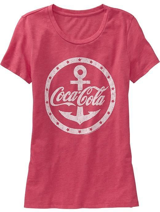 68908cde86 Old Navy Women s Coca-Cola® Graphic Tees on shopstyle.com
