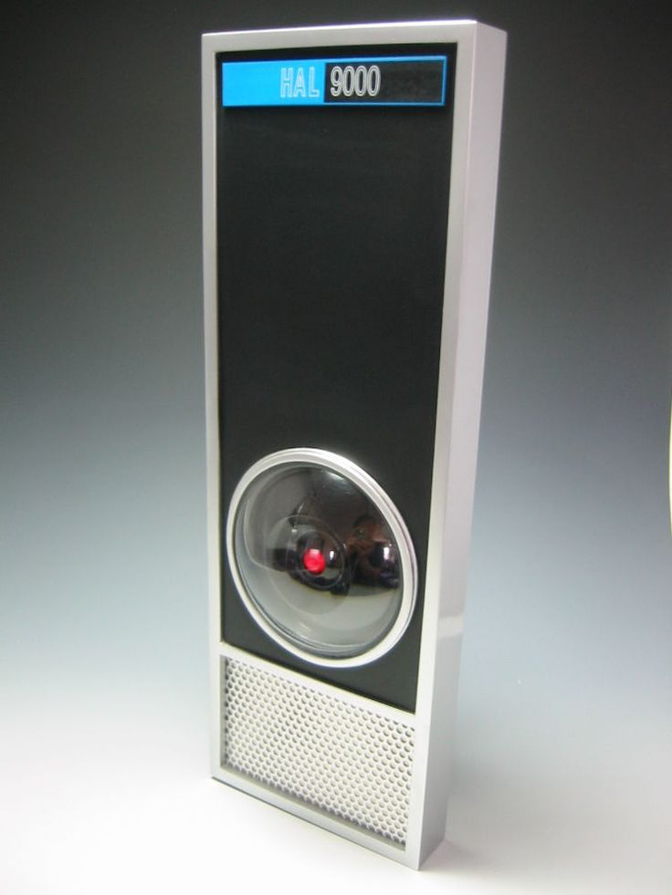2001: A Space Odyssey HAL 9000 Model Kit Lunar Models Excellent #LunarModels