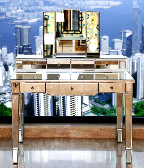 Best 25+ Mirrored vanity desk ideas on Pinterest | Makeup vanity ...