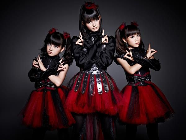 Meet BabyMetal. Japanese teen pop meets death metal in an explosion of  pure awesome.