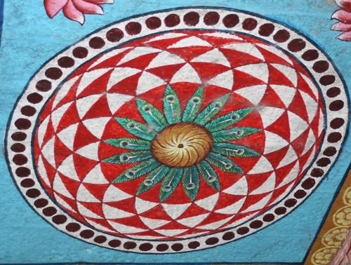 ceiling painting, South India