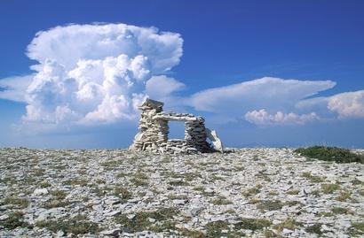 La Montagne de Lure dans les Alpes de Haute-Provence