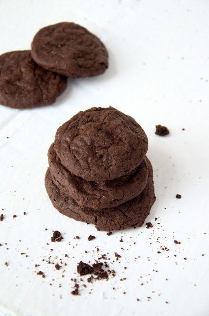Czekoladowa kraina: Ciasteczka czekoladowe jak brownie