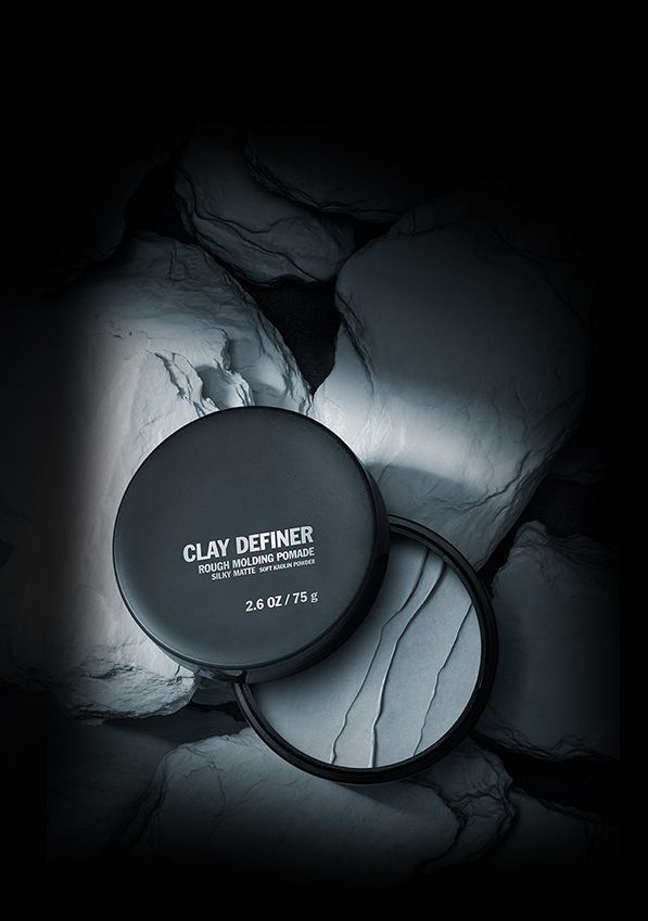 Shu Uemura Clay Definer Rough Molding Pomade gives you a cleaner look with a matte finish.