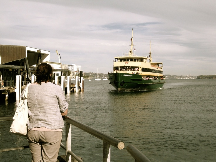 The Waiting.  Ferry to Manly Island, Sydney.