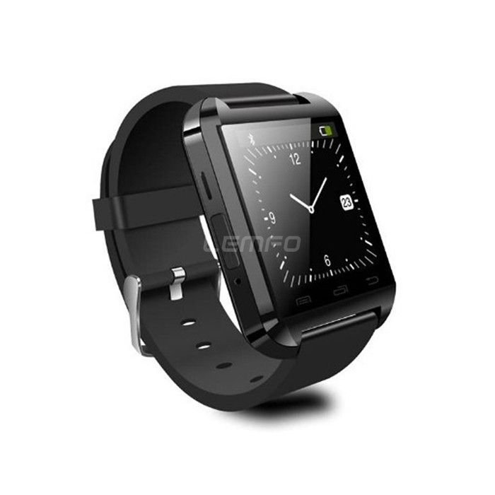 U Watch U8 Smartwatch Bluetooth Smart Watch WristWatch for iPhone 4/4S/5/5S Samsung S4/Note 3 HTC Android Phone Smartphones