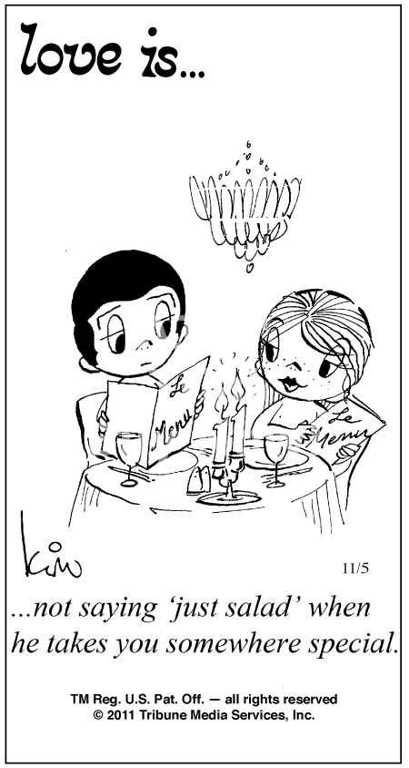 Love Is Comic Strip | Love Is ... Comic Strip by Kim Casali (November 5, 2011)