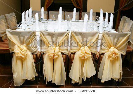 Wedding Ceremony Chair Decorations