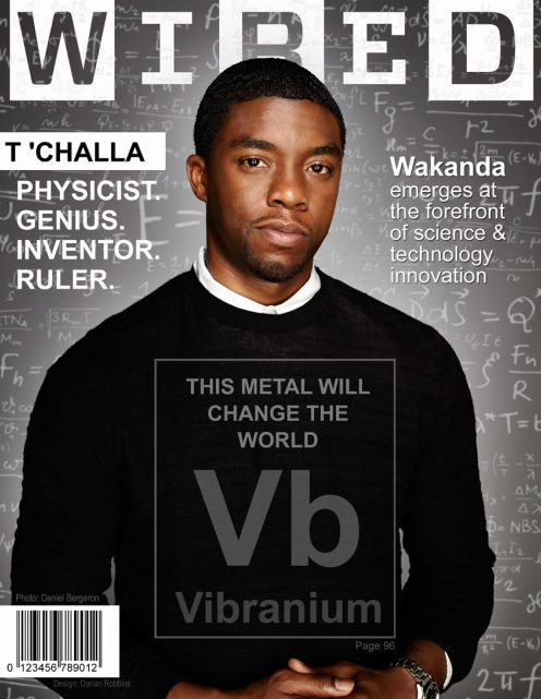 Marvel fan energizes  Black Panther fans with his fake magazine covers