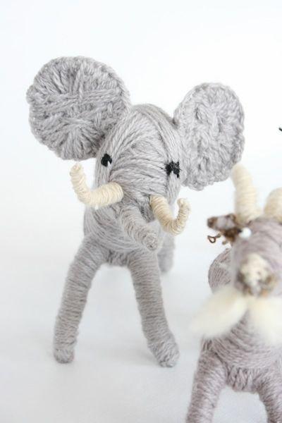 yarn animals - so cute