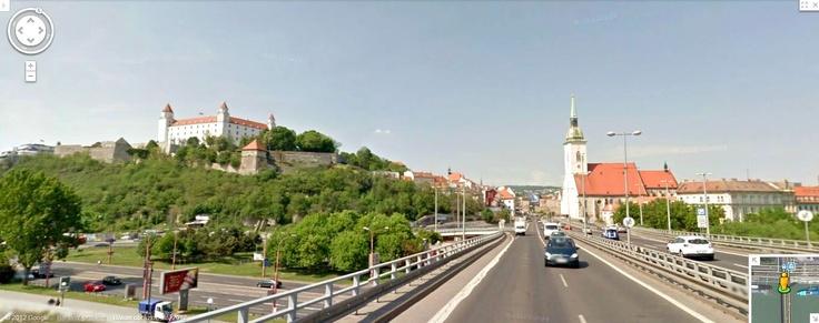 Google Street View - Bratislava castle, Bratislava