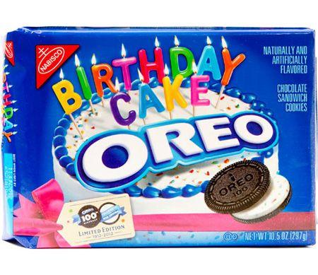 Happy 100th Birthday Oreo!: Happy 100Th, Oreo Birthday, 100Th Birthday, Food, Birthdays, Birthday Cake Oreo, Birthday Oreo, Oreo Cookies, Birthday Cakes
