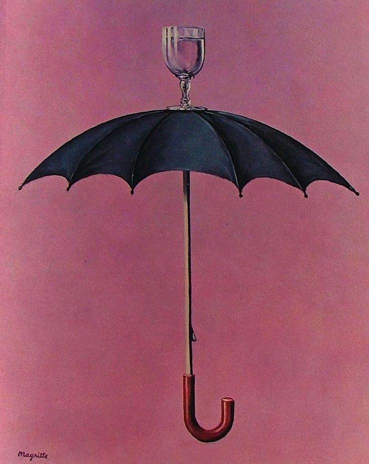 René Magritte - Les Vacances de Hegel 1958