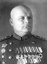 Col.-Gen. (since 1961 - Marshal of the Soviet Union) Golikov Filipp Ivanovich (July 16, 1900 - July 29, 1980) - Soviet military leader. Commander 10th and 4th Shock Armies, the Bryansk Front, 1st Guard Army, the North-Western and the Voronezh Fronts in WWII.