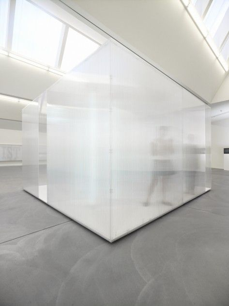 architectural and chic appearance of glass completely creating a room on its own Sebastian Hempel