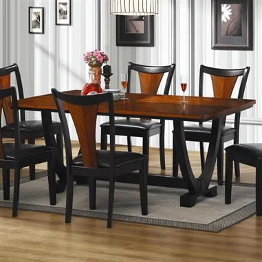 Boyer Traditional Black Cherry Table Contemporary Dining