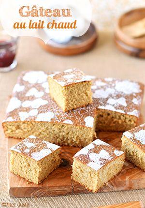 Un gâteau à la texture très moelleuse et aérienne, avec une mie toute douce. Un genre de «sponge cake», simplissime à préparer et surtout qui n'est pas trop riche, bien au contraire. Tout ce que j'aime ! La première fois...