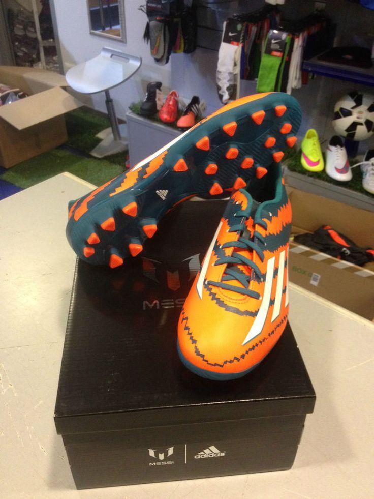 ADIDAS SCARPE SHOES CALCIO MESSI 10.3 AG ARTIFICIAL GRASS FOOTBALL BOOTS 2015.