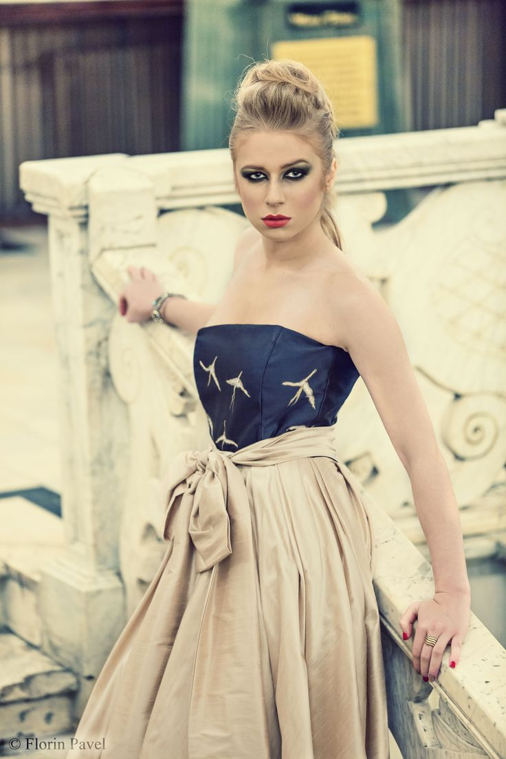 unique silk dress