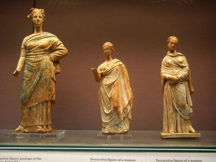 tanagra figurine - görög