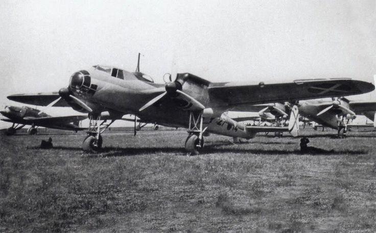 "Dornier Do 17.of №:(27.14)""Legion Condor"". Spain.1937/39."