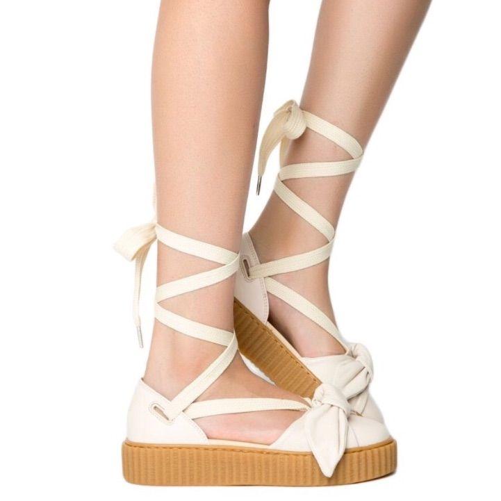 Fenty puma by Rihanna bow creeper sandals NWT in 2020