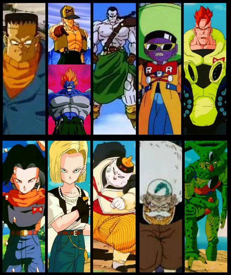 All The Androids Of Dragon Ball Amp Dragon Ball Z Dragon
