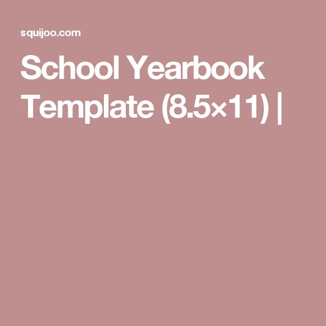 Yearbook Template. the system creating your school yearbook. making ...