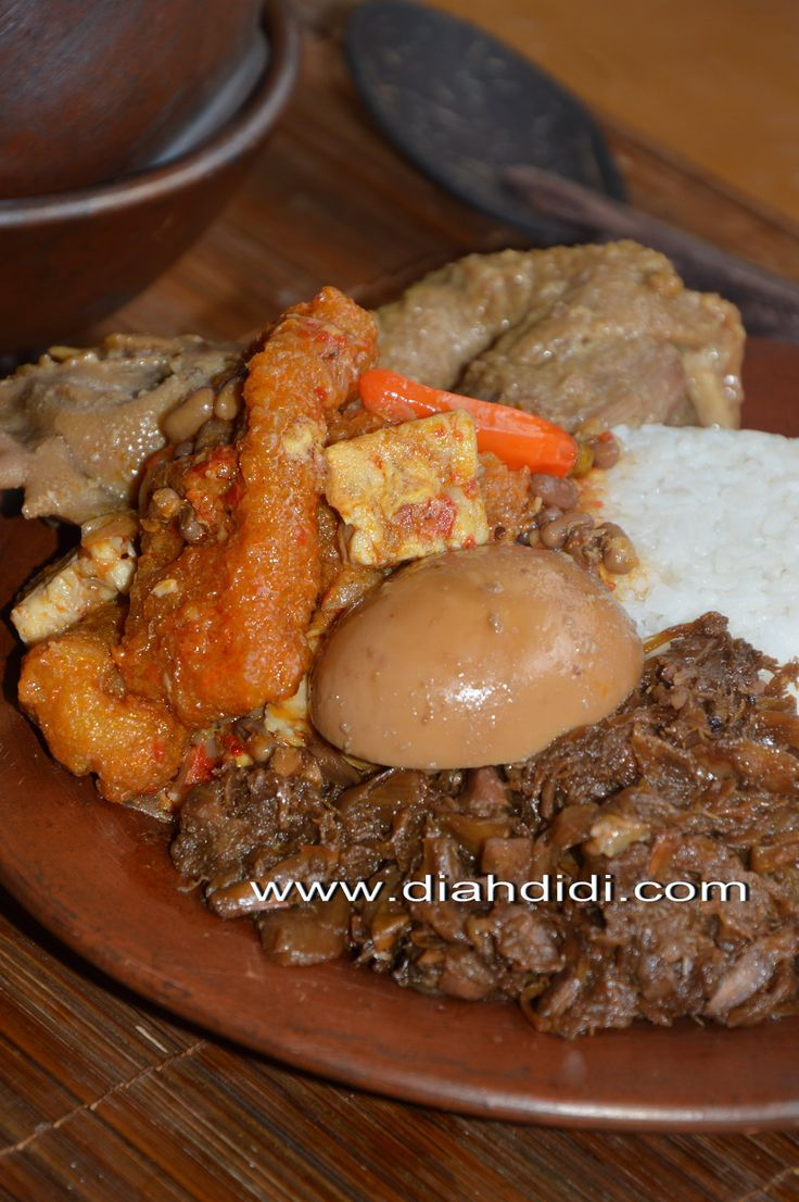 Diah Didi's Kitchen: Gudeg Yogya... Buatan Sendiri..Komplet..Plus Step By Step Cara Pembuatannya...^^