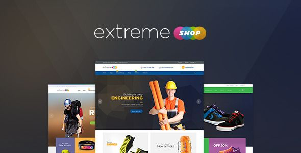 Ves Extreme Store Magento Template