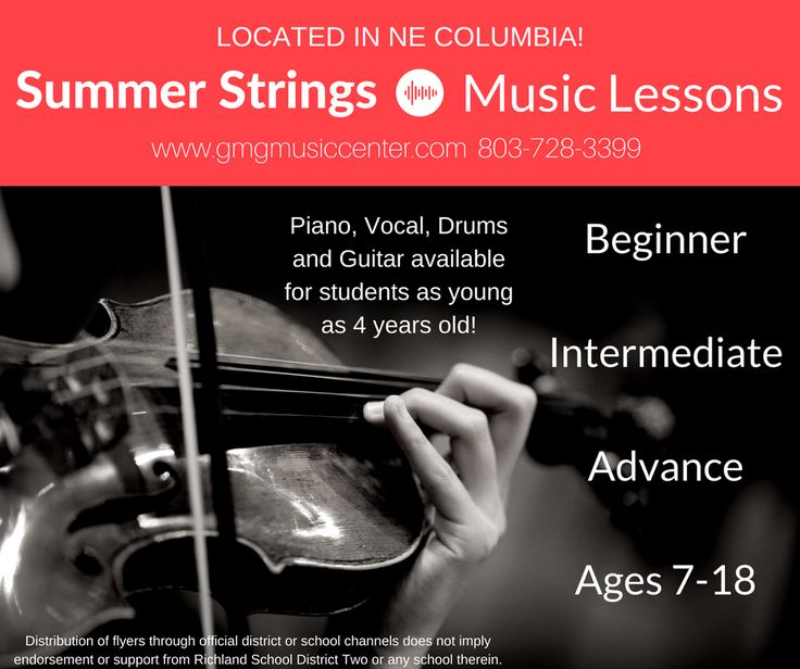 Summer Strings (ages 7-18)