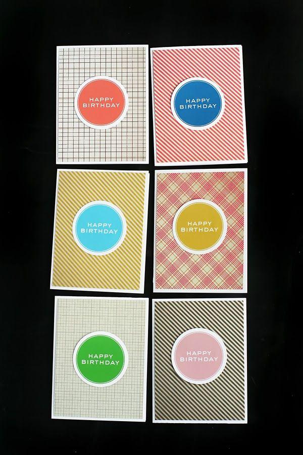 Free printable Happy Birthday cards