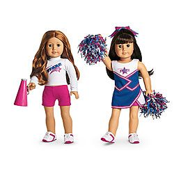 NEW! 2-in-1 Cheer Gear for Dolls + Charm