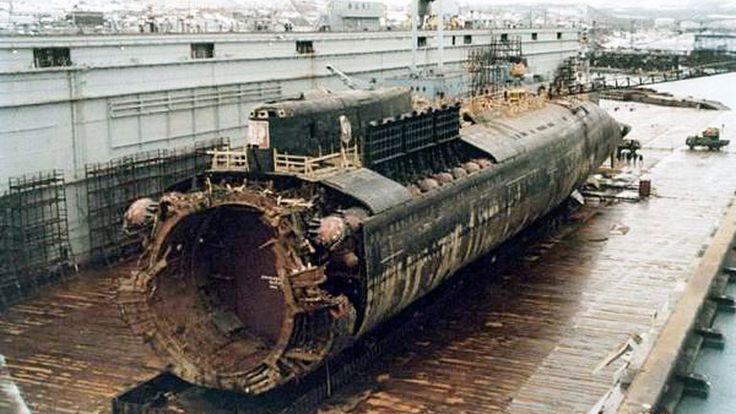 la historia del submarino ruso kursk