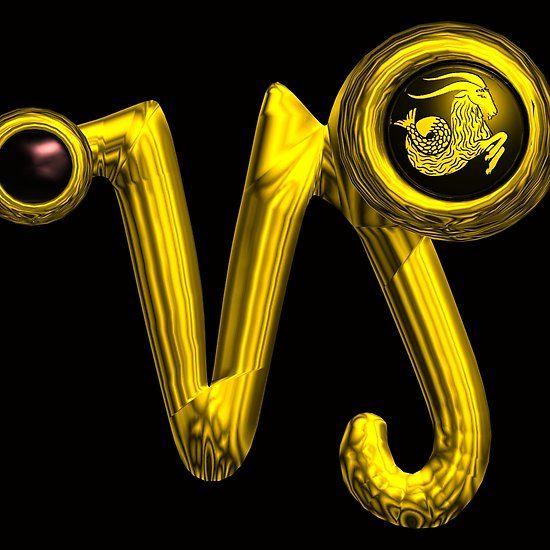 CAPRICORN ,GOLD ZODIAC BIRTHDAY SIGN JEWEL WITH ONYX GEM #astrology #astrologist #capricorn #fashion #zodiac #birthday #zodiacalsigns #jewel #goth #gold
