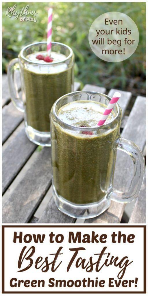 Iss dein Grün auf einfache Weise … Lerne, wie du das am besten schmeckende Grün …   – food and drink