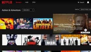 Want to find Disney Movies, or Sci-Fi Action Adventure flicks, or maybe in the mood for Zombie Horror Movie marathon? Here's the easiest way to find movies by category on Netflix.Note: you'll want