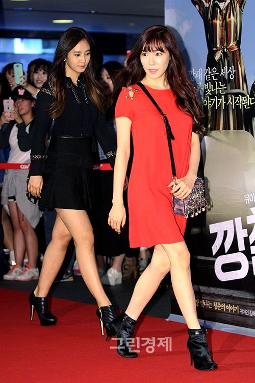 [130930] Tiffany at Tought as Iron VIP Premiere