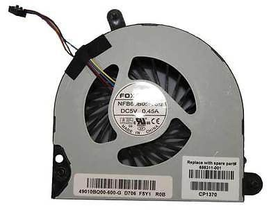 NEW For HP Elitebook 8560p 8560w 8570p For HP Probook 6570B cpu cooling fan 4-wire,Free shipping