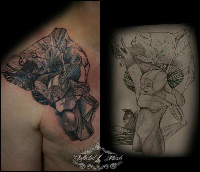 #sketch vs #tattoo