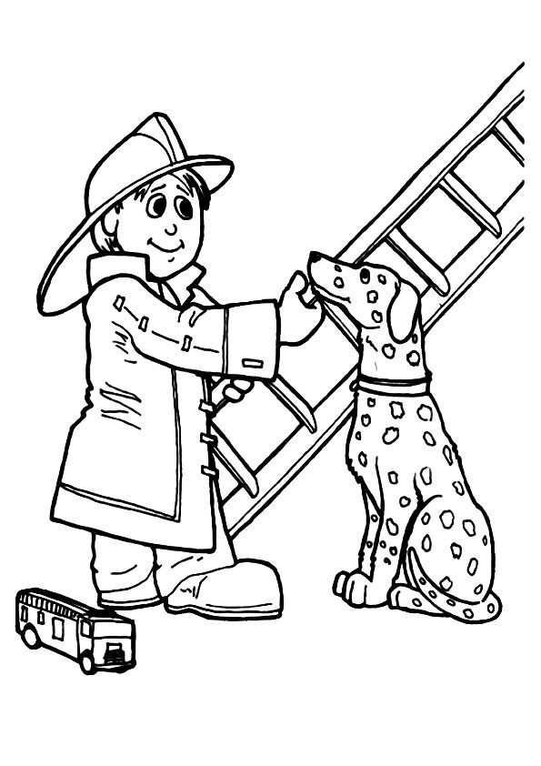17 Best Images About Coloring Community Helpers On Momjunction Coloring Pages