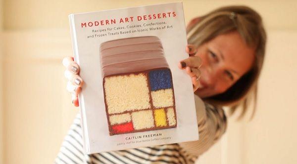 Modern Art Desserts: A Recipe Book Based On Iconic Artworks - DesignTAXI.com