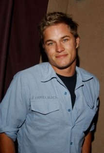 Travis Fimmel... I could tell he was cute even with the jacked up hair in vickings