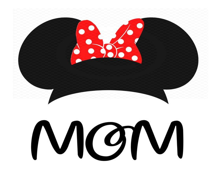 Instant Download - Minnie Mouse Ears, Iron On Transfer, Minnie Mouse ...